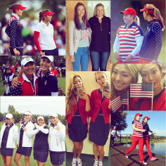 Pod 4 life! @brittany1golf @thealisonlee #AngelaStanford #lovemygirls ❤🇺🇸❤